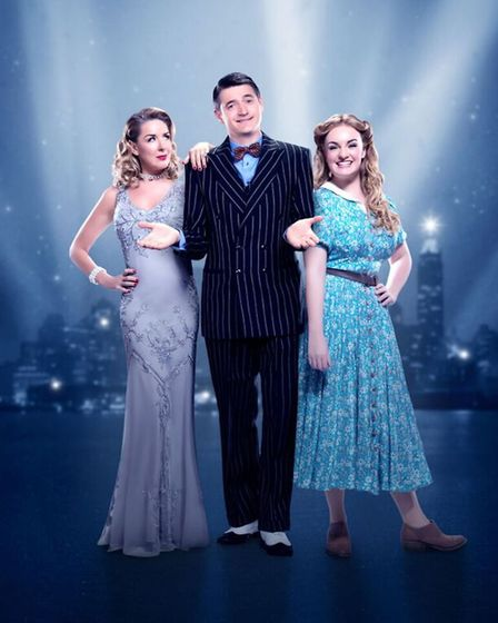 Crazy For You starring Claire Sweeney, Tom Chambers and Charlotte Wakefield. Picture: WATERMILL THEA