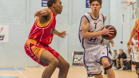 Ben Winter scored 24 for the Ipswich under 18s. Picture: PAVEL KRICKA