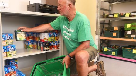 Food banks in Suffolk have come under increasing pressure as demand grows. Picture: ARCHANT