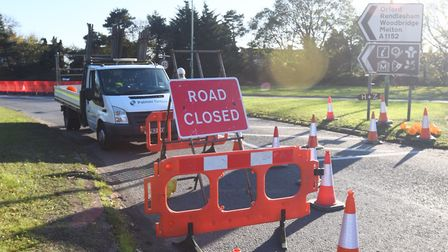 Suffolk highways says a single lane option for Woods Lane would not have worked. Picture: GREGG BROW