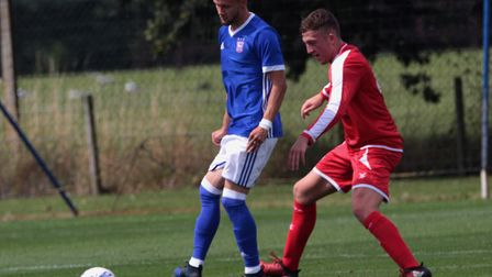 Shane McLoughlin was on target for the Town U23s. Picture: ROSS HALLS