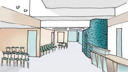 Work to expand Woolpit Health Centre starts next week. Picture: NHS SUFFOLK