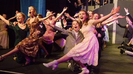 Woodbridge School pupils delighted parents with a stunning performance of The Sound of Music. Pictur