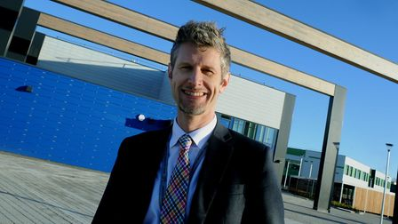 Andy Prestoe has left Sybil Andrews Academy suddenly. Picture: ANDY ABBOTT
