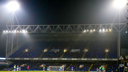 The attendance against Cardiff was the lowest since September 1998. Picture: Steve Waller www.