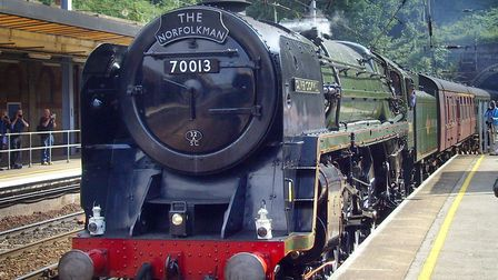 Oliver Cromwell has made several trips to East Anglia over the last 10 years - it passed through Ips