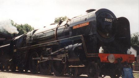 Oliver Cromwell spent 36 years at Bressingham Steam Museum until 2004. Picture: PAUL GEATER