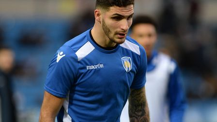 Ryan Inniss, who is pushing for a return to the U's starting line-up against Newport, after injury.