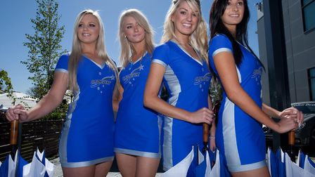 Grid Girls prior to the Australian Grand Prix at Albert Park, Melbourne. Too much for some.