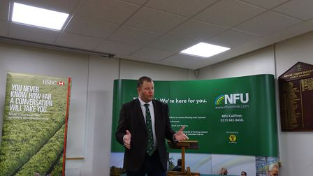 The NFU and RABI staged a Back British Farming Breakfast at Newmarket on Friday, February 2, with gu