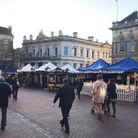 Ipswich market on the Cornhill. Picture: ROSS HALLS