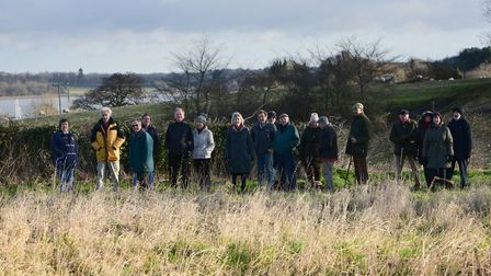 A group of villagers in Chelmondiston are furious about plans for 24 new homes on land overlooking P