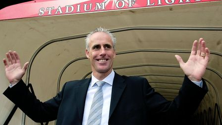Mick McCarthy was Sunderland manager from 2003 to 2006. Photo: PA