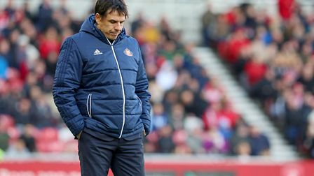 Ex-Wales boss Chris Coleman has struggled to turn around the fortunes of second-bottom Sunderland. P