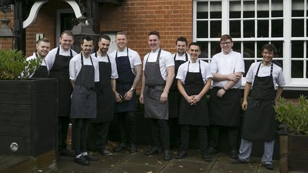 The kitchen team at The Unruly Pig in Woodbridge. Picture: THE UNRULY PIG