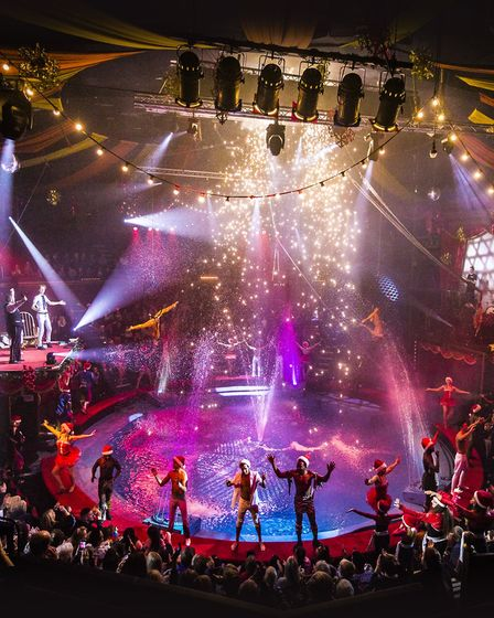 The finale of the Christmas show at Great Yarmouth's Hippodrome Circus. Picture: CONTRIBUTED