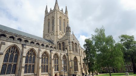St Edmundsbury Cathedral in Bury St Edmunds is the venue for the Norfolk and Suffolk 2018 Tourism Aw
