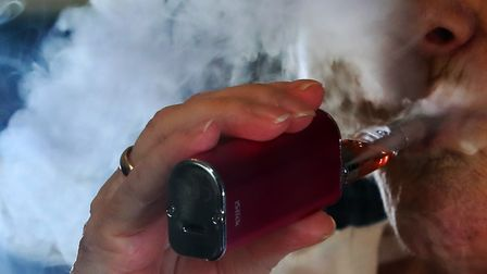 New Public Health England report concludes vaping is 95% less harmful than smoking. Picture: PETER B