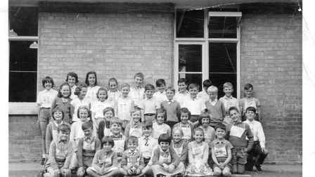 Sports day at Great Barton Primary School in 1964