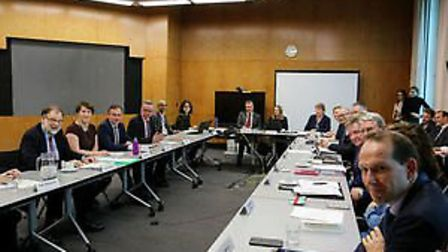 The Food and Drink Sector Council meets for first time. Picture: DEFRA