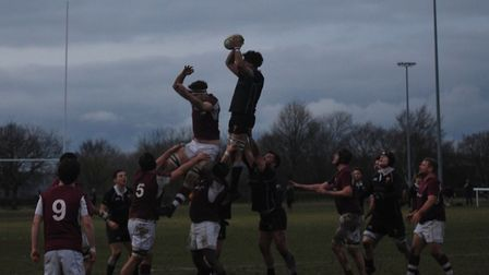 Colchester's line-out is fast becoming on of their greatest strength, securing almost all of their o