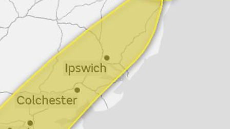 The Met Office has issued a yellow warning for snow and ice afffecting parts of the region. Picture: