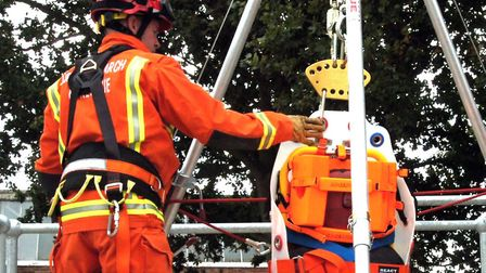 Essex County Fire and Rescue Service's urban search and resue team (stock image). Picture: ARCHANT