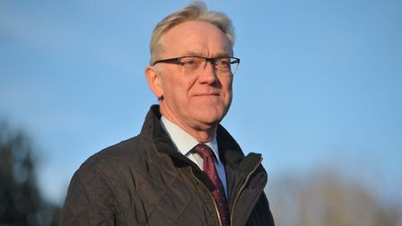 Chair of governors at Easton and Otley College Mark Pendlington. Picture: SARAH LUCY BROWN