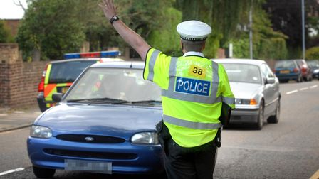 Essex Police stopped 50 drivers in Stanway who were driving without a seatbelt (stock image). Pictur