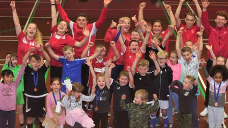 Local young children enjoying holiday clubs at Inspire Suffolk, Ipswich
