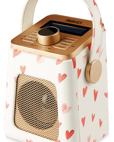 Undated Handout Photo of Flirt With Feminine Touches DAB and FM Radio, £29.99, Aldi. See PA Feature