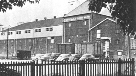 EDME maltings, the site where the new Waitrose store is situated.