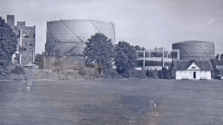 Tennis is now played in Quay Lane on part of a gas works site once dominated by two huge gas holders