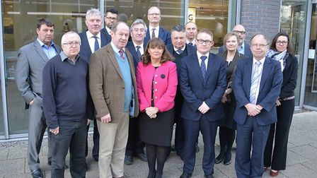 Public sector leaders from across Suffolk regularly come together last month they met Southwark chi
