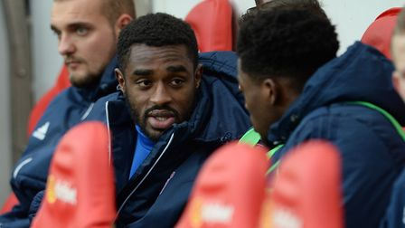 New Ipswich signing Mustapha Carayol was on the bench at Sunderland. Picture Pagepix