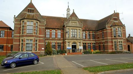 The Patrick Stead Hospital in Halesworth could be put up for sale soon. Picture: NICK BUTCHER
