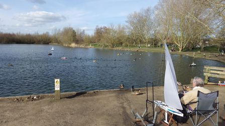 Needham Lakes is popular with tourists in Mid Suffolk. Picture: GRAHAM MEADOWS