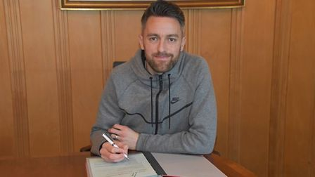 Cole Skuse has signed a new contract at Ipswich Town. Picture: ITFC