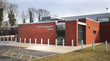 Matthew Eves was being held at Bury St Edmunds police investigation centre. Picture: ARCHANT