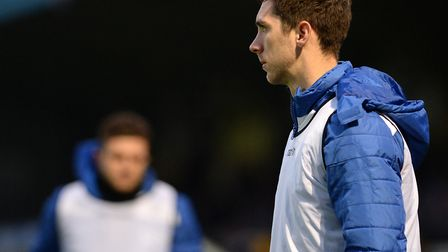 Luke Prosser, a key figure for Colchester United. Picture: PAGEPIX