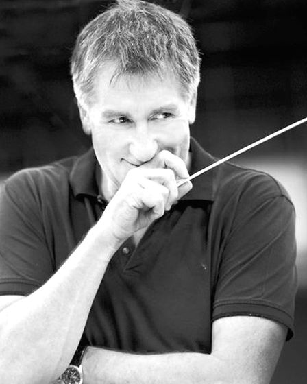 Composer George Fenton who will be conducting the BBC Concert Orchestra at a live screening of David