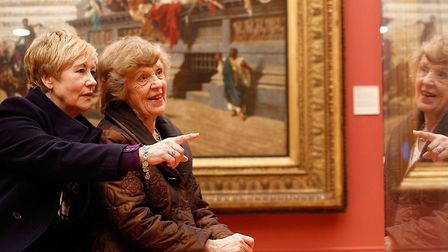 Visitors to Manchester Art Gallery. Photo: Manchester Art Gallery