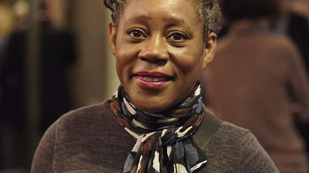 Artist Sonia Boyce who staged the gallery take-over which removed the painting Hylas and the Nymphs
