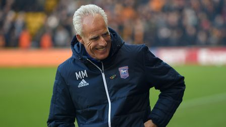 Ipswich Town boss Mick McCarthy is out of contract in the summer. Photo: Pagepix