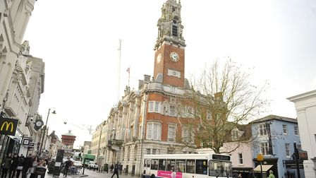 Colchester Town Hall is proposing a rise in council tax. Picture: SU ANDERSON