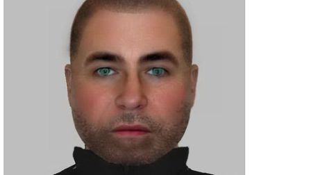 An e-fit of the man Essex Police want to talk to about the attempted rape in Witham. Picture: ESSEX