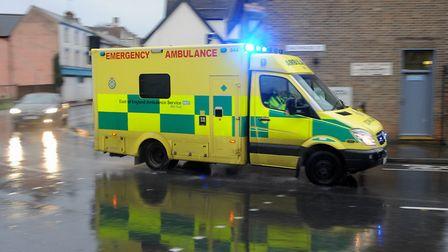 The East of England Ambulance is being investigated for allegations made by a whistleblower. Picture