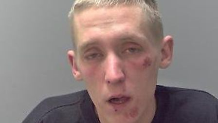 Terry Jones - jailed for 63 months after two attempted robberies. Picture: SUFFOLK CONSTABULARY