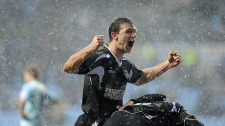 He has made the most appearances of any player to have graduated from the Ipswich Town academy. Pict
