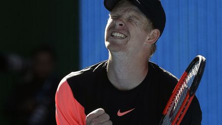 Kyle Edmund could end up as British number one if he reaches the final in Australia. Picture: PA SPO